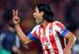 Colombias Radamel Falcao, of Atletico Madrid, looks to repeat the title as well as be leading scorer for the third consecutive year.