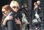 ¿Se acabaron los problemas? Los paparazzi captaron a Lindsay Lohan y a su madre cuando se daban un abrazo después de la supuesta pelea que tuvieron en Nueva York
