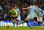 Sérgio Agüero foi outro argentino a balançar as redes pelo Manchester City