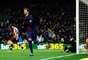 Zagueiro Piqué abriu o placar para o Barcelona no Camp Nou
