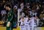 Santistas venceram de virada o já rebaixado Palmeiras