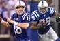 Peyton Manning y Marvin Harrison se juntaron para lograr 112 pases para touchdown, más que cualquier otra pareja quarterback-wide receiver en la historia. Y se unieron para ganar el Super Bowl XLI contra Chicago Bears en Miami.