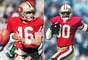 Ha habido muchas grandescombinaciones quarterback-wide reciver que han llegado al Super Bowl. Aquí está la lista de Terra de los 10 mejores, comenzando con dos de los mejores en sus posiciones de todos los tiempos, Joe Montana y Jerry Rice. Montana llevó a los 49ers a cuatro Súper Bowls en la década de 1980, y ganó el MVP del Super Bowl en tres ocasiones. Rice tiene todas las principales marcas de receptor de la NFL, y jugó en dos Super Bowls con Montana, ganando el MVP del Super Bowl después de la captura de 11 pases para 215 yardas y un touchdown en el Super Bowl XXIII.