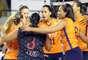 O Vôlei Amil conseguiu importante vitória fora de casa nesta sexta-feira, pela Superliga feminina de vôlei: venceu o Pinheiros por 3 sets a 0, com parciais de 25/18, 25/23 e 25/17