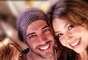 """Thalía ha encendido Twitter subiendo una foto con el actor William Levy. La actriz de telenovelas como Maria la del Barrio y María Mercedes escribió, """"Que rico la pasamos entre amigos,pastas y risas ;-) William y Lili awesome!"""""""