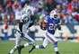 Demasiado tarde para pasar a los playoffs, el running back C.J. Spiller ayudó a darle al agobiado coach de los Bills de Buffalo Chan Gailey una victoria de 28-9 sobre los Jets de Nueva York para cerrar la campaña.