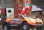 El 'Mono' Orlandini fue el primer peruano en el desfile en autos.