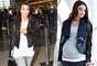 Chaqueta de cuero: Kim es la reina del cuero, y con esta chaqueta de Isabella Oliver (por 300 dólares) se verá fantástica en el embarazo.
