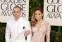 El mejores talentos del cine y la televisión se unieron a celebrar 70a entrega de los Golden Globes. Vean a las parejas que iluminaron esta noche tan especial en Beverly Hills, California, empezando la bella y radiante Jennifer López y su novio Casper Smart.