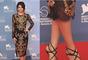 Selena sabe cómo seguir las tendencias que impone el mundo de la moda. Para esta ocasión, optó por un vestido estilo barroco combinado con unas sandalias en cuero negro.