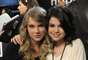 "Taylor & Selena share a hug at the ""Hope for Haiti Now: A Global Benefit for Earthquake Relief"" in 2010."