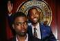 "Chris Rock fue Mays Gilliam in ""Head of State."""