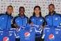 Anderson Zapata, Fredy Montero, Dahwling Leudo y Robinson Zapata fueron presentados oficialmente por Millonarios