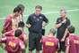 Técnico Cuca repetiu a formação inicial do jogo-treino diante do Villa Nova-MG, que teve vitória atleticana por 4 a 1, no último sábado