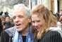 O cineasta Abel Ferrara compareceu nesta quarta-feira (23) ao desfile de Jean Paul Gaultier, em Paris