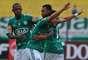 O jogo até começou bom para o Palmeiras, com gol de falta de Ayrton
