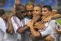 O Fluminense contou com uma noite de inspiração do goleiro Diego Cavalieri para se segurar no primeiro tempo e conseguir um gol no final da etapa, com Wellington Nem