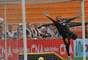 Goleiro Marcelo sofreu gol de Ayrton, mas teve bom desempenho durante o jogo