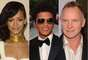 Rihanna, Bruno Mars and Sting will be teaming up for a special performance.