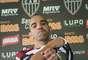 Tardelli poderá reestrear pelo time mineiro contra o São Paulo, na próxima quarta-feira, às 22h (Brasília), no primeiro jogo do time na Copa Libertadores
