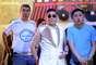 O rapper sul-coreano Psy foi uma das grandes atrações desta sexta-feira (8) no Carnaval da capital baiana, ao cantar Gangnam Style com Claudia Leitte