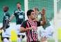 Aloísio comemora seu primeiro gol pelo São Paulo. Ele jogou com os reservas neste sábado, mas está cotado para ser titular contra o Atlético-MG, pela Copa Libertadores