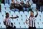 Maicosuel e o argentino Roberto Pereyra dançam com estilo depois do único gol da Udinese em vitória sobre o Torino