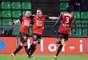 Rennes recebeu o Toulouse, neste domingo, e fez a lição de casa. Com gols de Alessandrini e Erding, a equipe venceu por 2 a 0 e chegou à quinta colocação na tabela