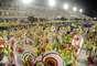 A Sereno de Campo Grande surpreendeu o público na Marquês de Sapucaí com um belo desfile, recheado de alegorias e fantasias com cores fortes e diversificadas