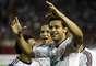 Sozinho na área, Fred aproveitou sobra e marcou um belo gol na Venezuela