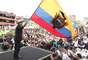 O atual presidente, Rafael Correa (Alianza País), aparece como favorito em todas as pesquisas para vencer ainda no primeiro turno. Mesmo com a vantagem, Correa recorreu o país em campanha desde janeiro tentando convencer os eleitores a optarem por sua lista para a Assembleia Nacional, onde busca ter maioria absoluta para um eventual segundo mandato