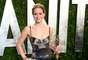 Jennifer Lawrence se cambió de vestido para celebrar su gran noche en Hollywood.