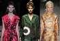 Oriente se ha lanzado a la conquista de la moda y Occidente se deja conquistar: dragones chinos, bambú, flores de loto, abanicos y kimonos. El color, a tu gusto (De izquierda a derecha: Miu Miu, Prada y Mulberry).