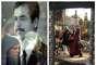 La captura y muerte de Sadam Husein, en diciembre de 2003, no cerró una guerra que en estos años se ha cobrado la vida a más de cien mil personas. En la fotografía se ve a la izquierda el reflejo de una mujer en en un cristal en 2003 y una fotografía del expresidente iraquí. A la derecha, también un reflejo en un cristal, pero esta vez de 2013, en el que se ve a unas mujeres paseando ante un vendedor ambulante.