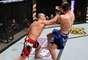 Aos 36 anos, Wanderlei protagonizou luta explosiva, com muita agressividade de ambos os lutadores