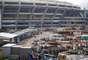As obras do Estádio do Maracanã estão atrasadas, já que deveriam ter sido entregues no ultimo dia 28 de fevereiro, e esta quarta-feira representa mais um dia perdido