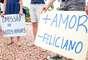 Em Porto Alegre (RS), o protesto aconteceu no Parque da Redenção, tradicional espaço da cidade