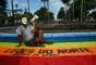 Grupos de defesa dos direitos humanos protestaram em várias partes do País neste sábado contra a indicação do pastor Marco Feliciano para a pasta de Direitos Humanos do governo federal. Na foto, os protestos em Pernambuco