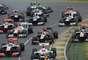 Comienza la temporada de Fórmula 1 2013, aquí la largada en Melbourne Park.