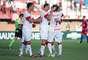 Forlán fez um dos gols da vitória colorada contra o Canoas por 3 a 1