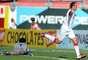Josimar festeja gol ocorrido em confronto no Campeonato Gaúcho