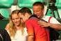 Pouco tempo depois, Stepanek começou a namorada a também tenista Nicole Vaidisova (à esq.), da República Checa. Vaidisova, 23 anos, chegou a ser a número 7 do mundo em 2007 e parou de jogar profissionalmente em 2010. No mesmo ano, casou-se com Stepanek, 11 anos mais velho do que ela