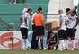 Apesar de bom resultado, Corinthians perdeu dois titulares ainda no primeiro tempo; goleiro Cássio sentiu o quadril e deu lugar a Danilo Fernandes