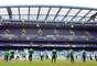 Treinamento foi realizado no Estádio Stamford Bridge, do Chelsea. Brasil enfrenta a Rússia nesta segunda-feira, em amistoso no mesmo local