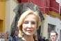 Carmen Lomana no tiene pelos en la lengua. La socialité ha utilizado las redes sociales para verter su opinión sobre el estilismo escogido por la princesa de Asturias para la entronización del Papa Francisco en Vaticano.