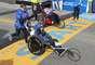 La competencia, que incluyó la disciplina para atletas en sillas de rueda, también sirvió como homenaje para recordar a los fallecidos en la masacre de la Escuela Primaria de Sandy Hook, Newton, el pasado 14 de diciembre.
