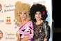 Rossy de Palma y Bibiana Fernández fueron de las más divertidas de la noche.