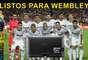 Real Madrid pronto para... acompanhar a final pela televisão