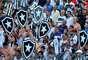 Torcida do Botafogo fez a festa em Volta Redonda
