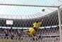 Ceará pressionou bastante pela vitória, mas a bola acertou a trave de Eliardo três vezes neste domingo